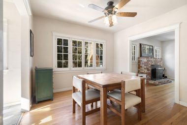 Formal dining room (this room actually has a closet and if a third bedroom is really needed, could be closed off by drywall or louvered doors).
