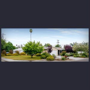 Large corner lot of 9,148 sq ft (.21/acre). The yard to the left of the house could be privacy fenced to enlarge your outdoor living space, or add a pool and/or RV parking! Endless opportunities...